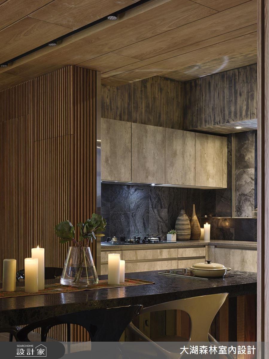 42坪新成屋(5年以下)_休閒風餐廳廚房案例圖片_大湖森林室內設計_大湖森林_27之4