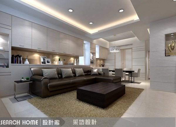 90坪新成屋(5年以下)_現代風案例圖片_采坊室內設計_采坊_08之6
