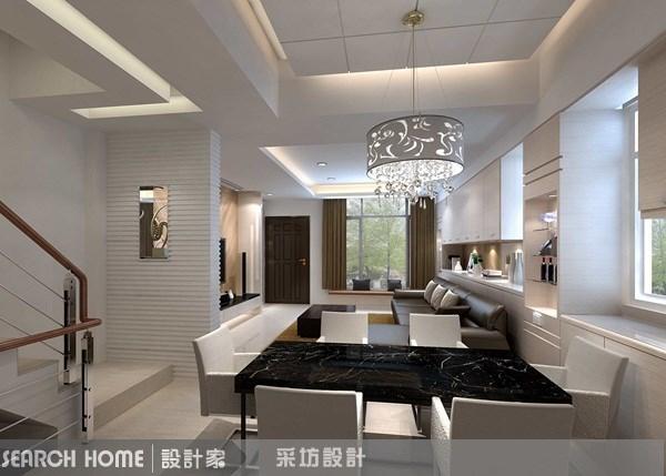 90坪新成屋(5年以下)_現代風案例圖片_采坊室內設計_采坊_08之7