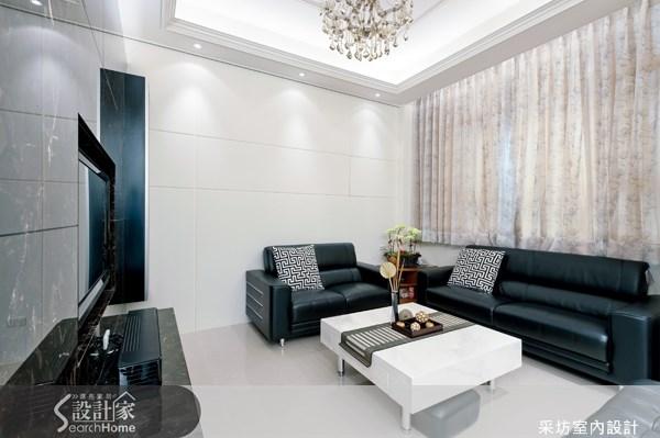 70坪新成屋(5年以下)_現代風案例圖片_采坊室內設計_采坊_11之2