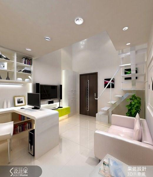 8坪新成屋(5年以下)_現代風案例圖片_采坊室內設計_采坊_06之4