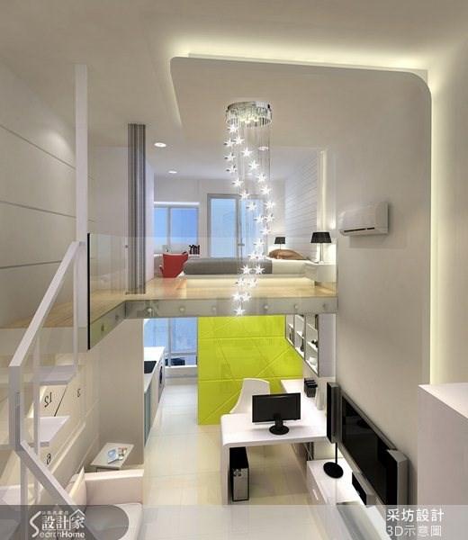 8坪新成屋(5年以下)_現代風案例圖片_采坊室內設計_采坊_06之5