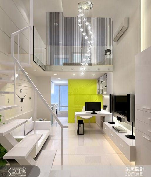8坪新成屋(5年以下)_現代風案例圖片_采坊室內設計_采坊_06之3