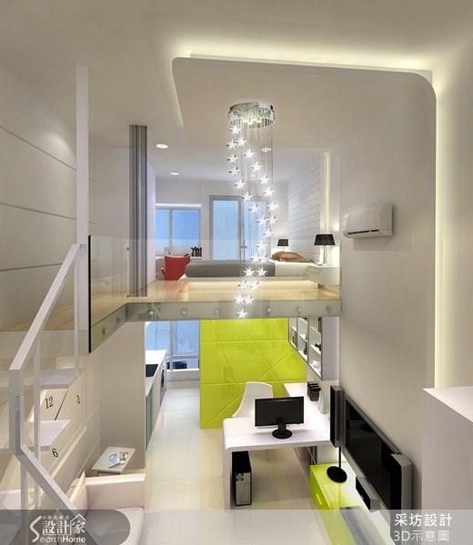 8坪新成屋(5年以下)_現代風案例圖片_采坊室內設計_采坊_06之6