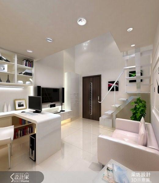 8坪新成屋(5年以下)_現代風案例圖片_采坊室內設計_采坊_06之2