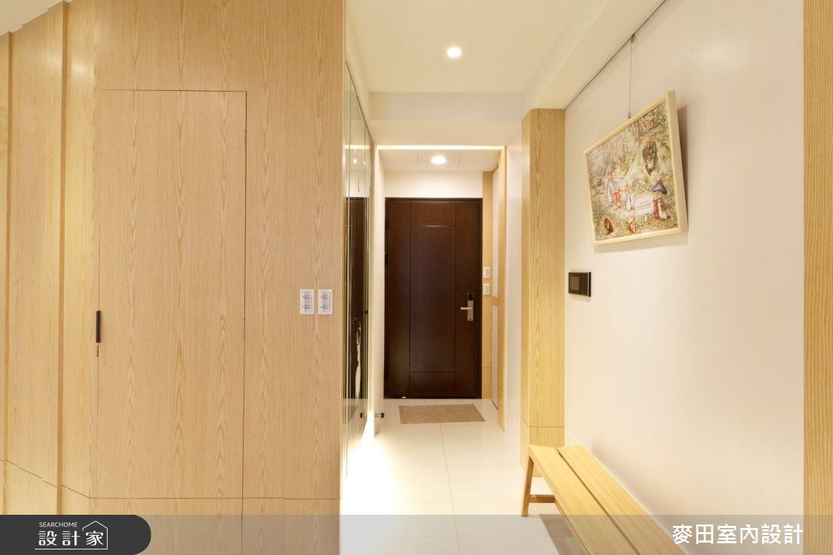 70坪新成屋(5年以下)_現代風玄關案例圖片_麥田室內設計有限公司_麥田_01之3