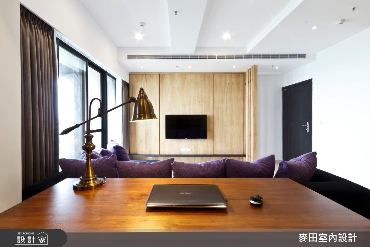 28坪新成屋(5年以下)_混搭風書房案例圖片_麥田室內設計有限公司_麥田_02之4