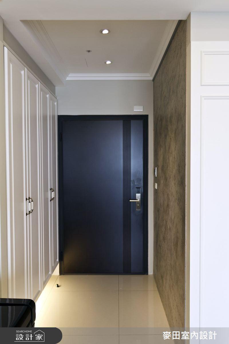 32坪新成屋(5年以下)_新古典玄關案例圖片_麥田室內設計有限公司_麥田_03之3