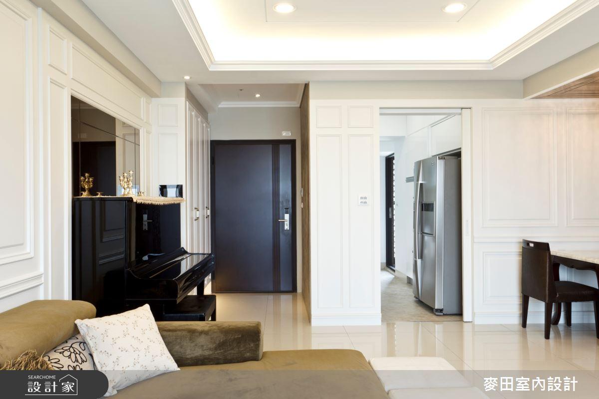 32坪新成屋(5年以下)_新古典客廳案例圖片_麥田室內設計有限公司_麥田_03之6