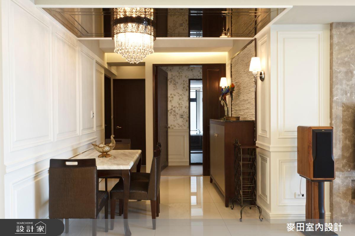 32坪新成屋(5年以下)_新古典餐廳案例圖片_麥田室內設計有限公司_麥田_03之9