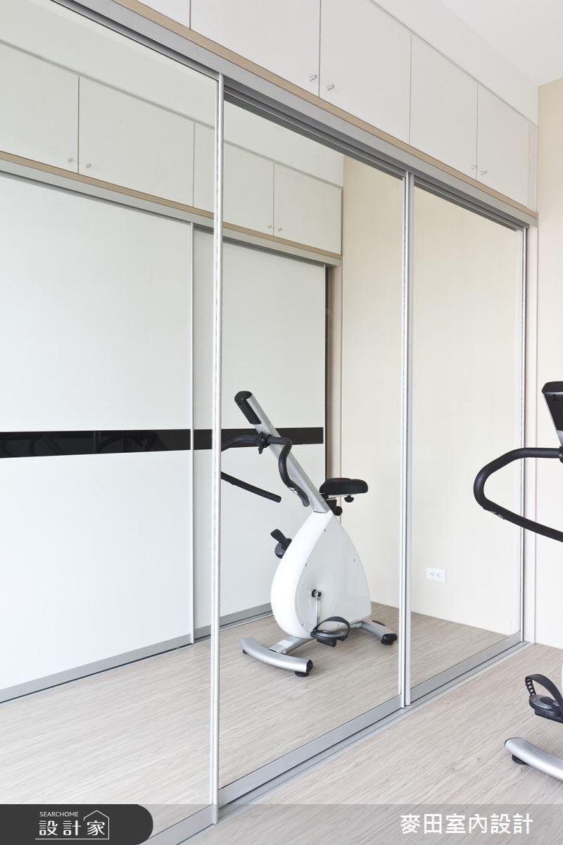 32坪新成屋(5年以下)_新古典家庭健身房案例圖片_麥田室內設計有限公司_麥田_03之11