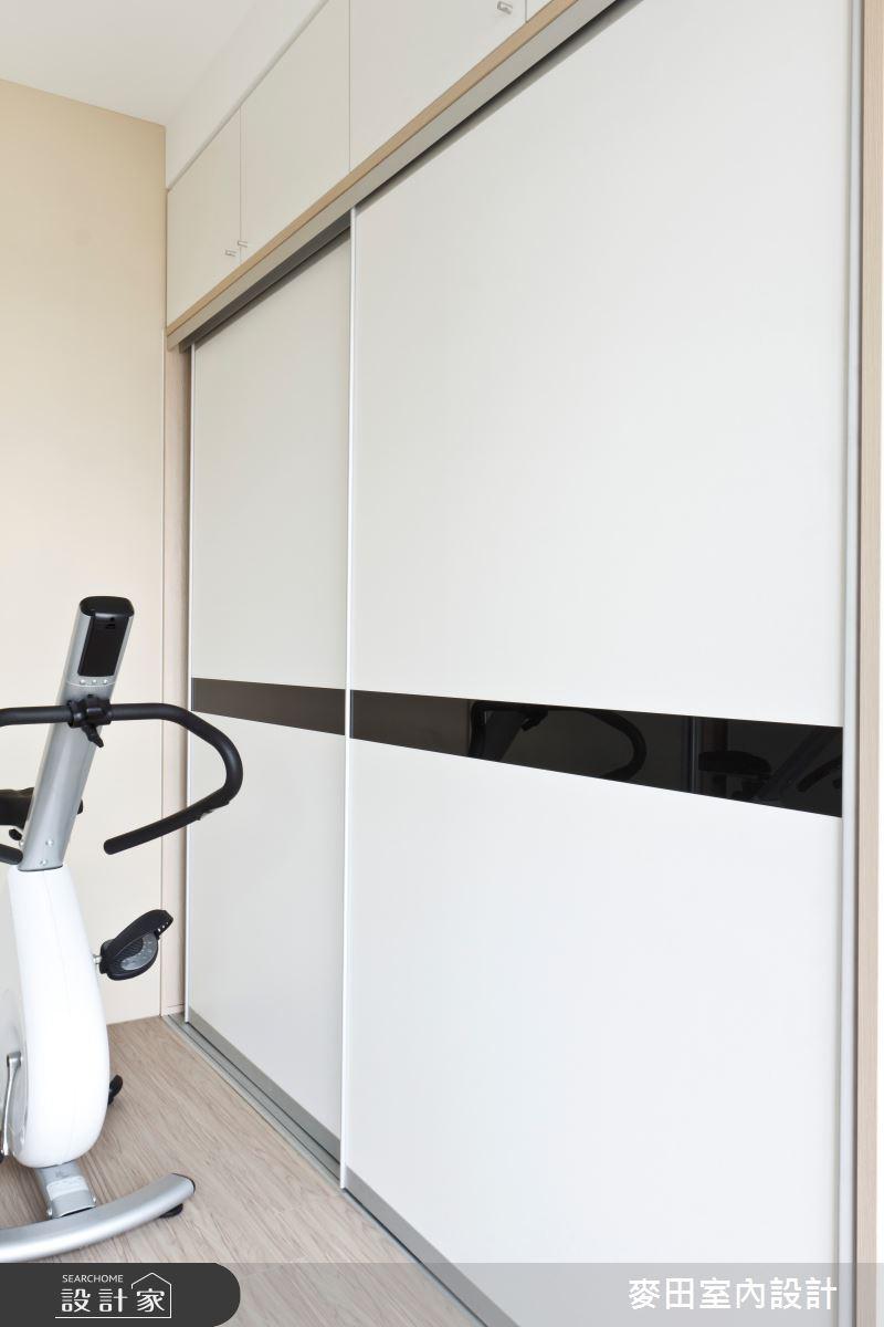32坪新成屋(5年以下)_新古典家庭健身房案例圖片_麥田室內設計有限公司_麥田_03之12