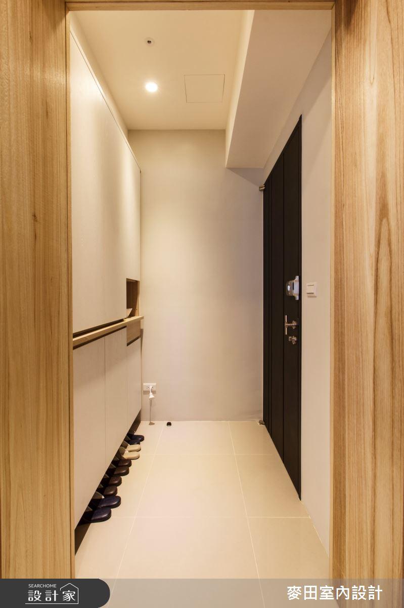 21坪新成屋(5年以下)_簡約風玄關案例圖片_麥田室內設計有限公司_麥田_04之2