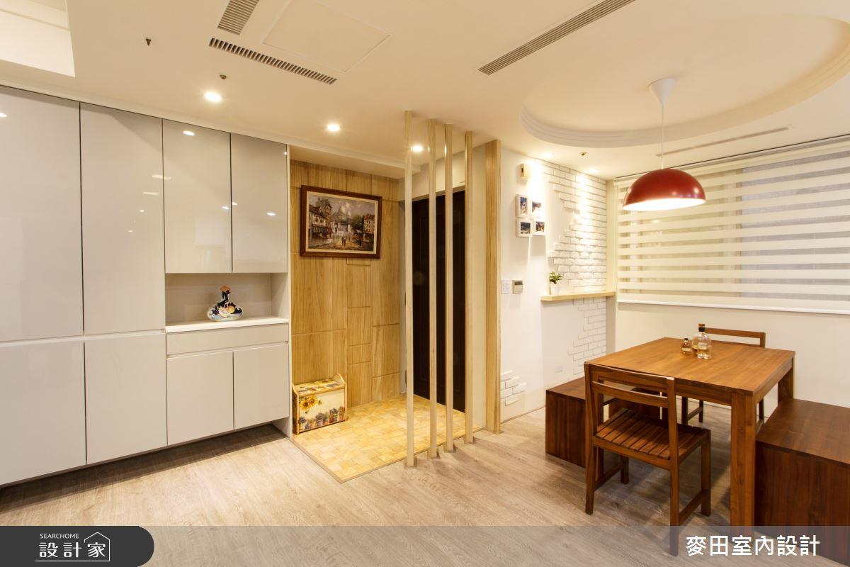 38坪中古屋(5~15年)_簡約風餐廳案例圖片_麥田室內設計有限公司_麥田_05之3