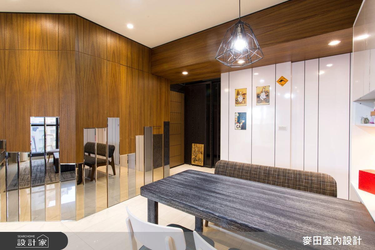 27坪新成屋(5年以下)_混搭風餐廳案例圖片_麥田室內設計有限公司_麥田_08之4