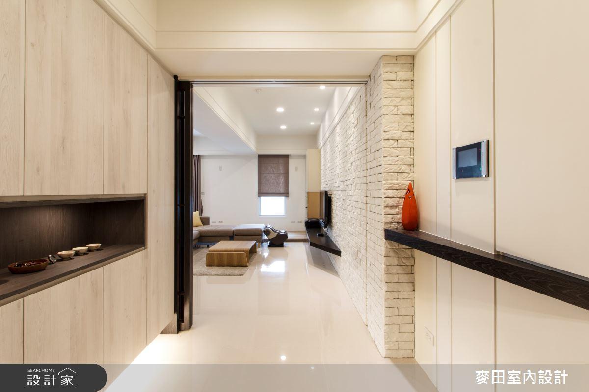 43坪新成屋(5年以下)_簡約風玄關案例圖片_麥田室內設計有限公司_麥田_09之1