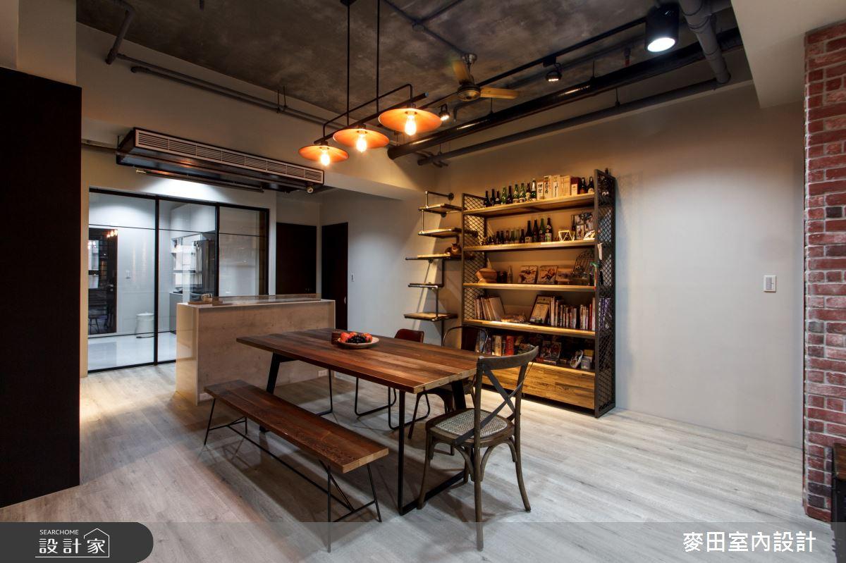 56坪新成屋(5年以下)_工業風餐廳案例圖片_麥田室內設計有限公司_麥田_12之3