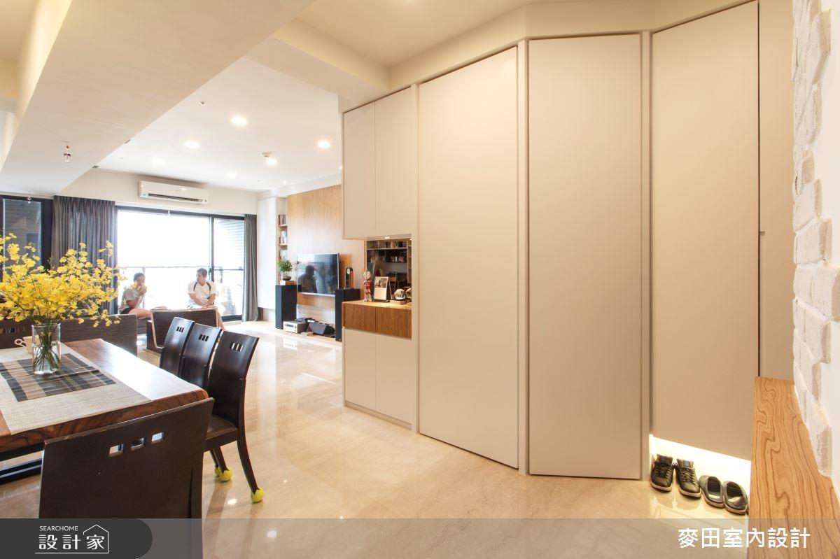 31坪新成屋(5年以下)_休閒多元餐廳案例圖片_麥田室內設計有限公司_麥田_13之3