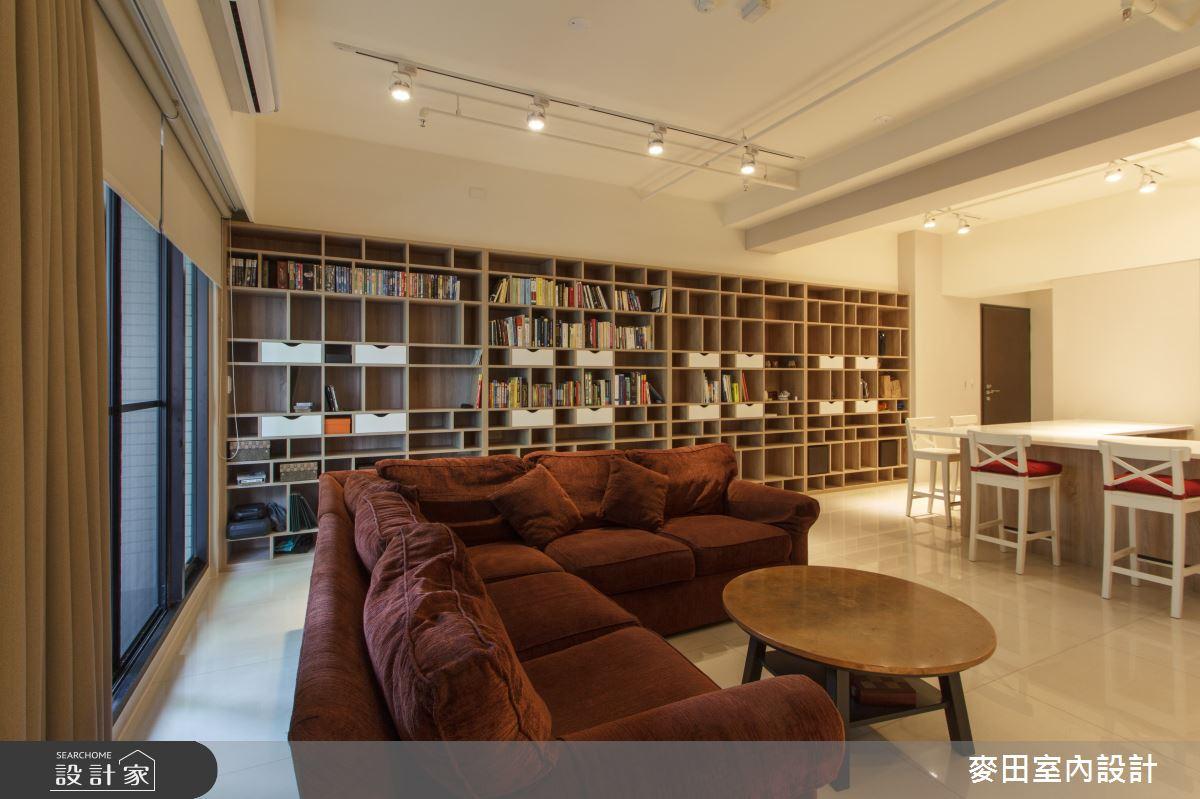 45坪新成屋(5年以下)_休閒多元客廳案例圖片_麥田室內設計有限公司_麥田_14之3