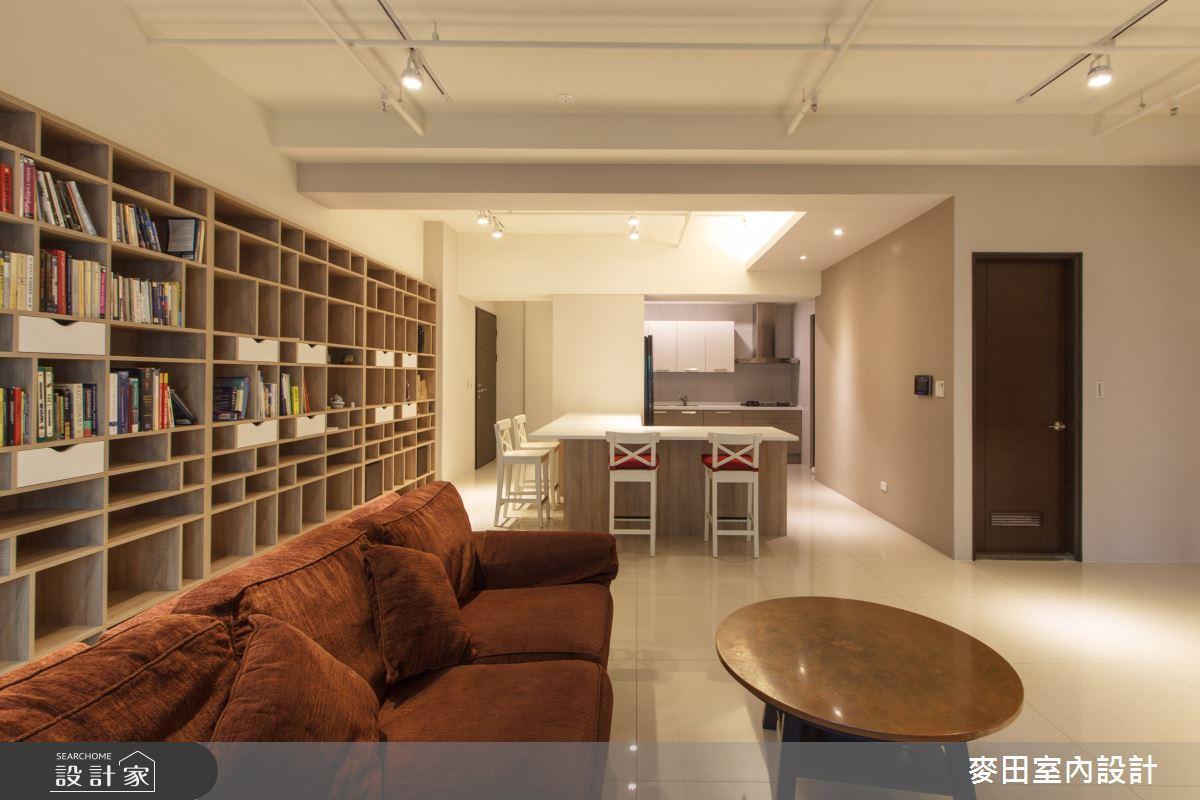 45坪新成屋(5年以下)_休閒多元客廳案例圖片_麥田室內設計有限公司_麥田_14之4
