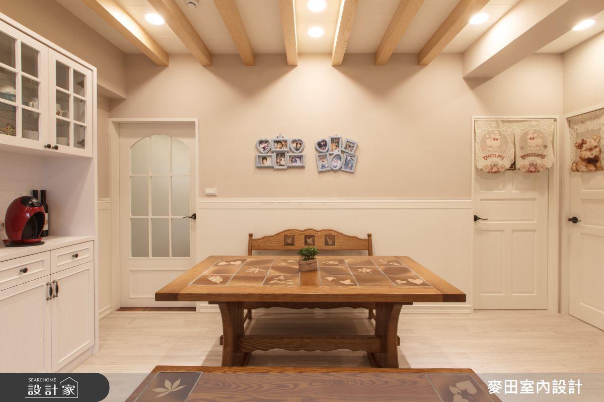 45坪老屋(31~40年)_混搭風餐廳案例圖片_麥田室內設計有限公司_麥田_15之3