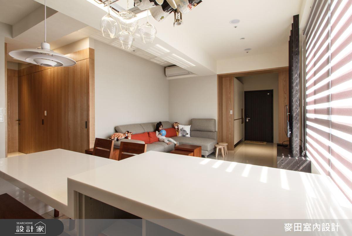 20坪新成屋(5年以下)_休閒多元客廳餐廳案例圖片_麥田室內設計有限公司_麥田_17之3