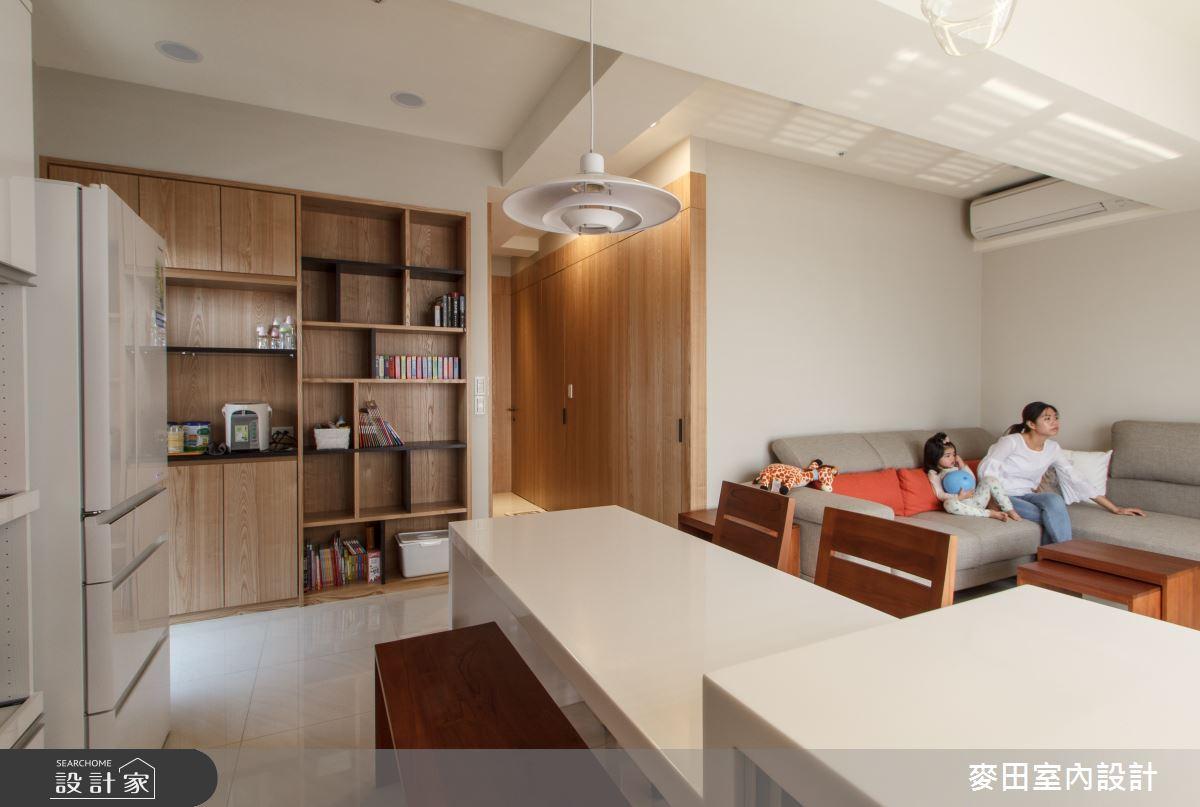 20坪新成屋(5年以下)_休閒多元客廳餐廳案例圖片_麥田室內設計有限公司_麥田_17之4