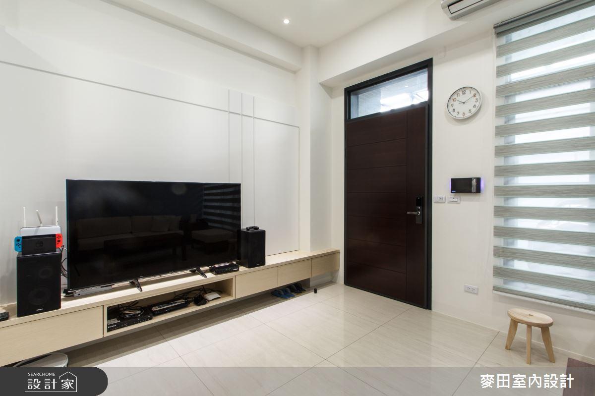 60坪新成屋(5年以下)_休閒多元客廳案例圖片_麥田室內設計有限公司_麥田_18之2