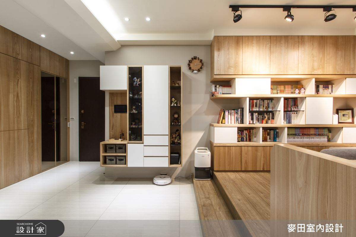 42坪新成屋(5年以下)_混搭風玄關和室案例圖片_麥田室內設計有限公司_麥田_20之4