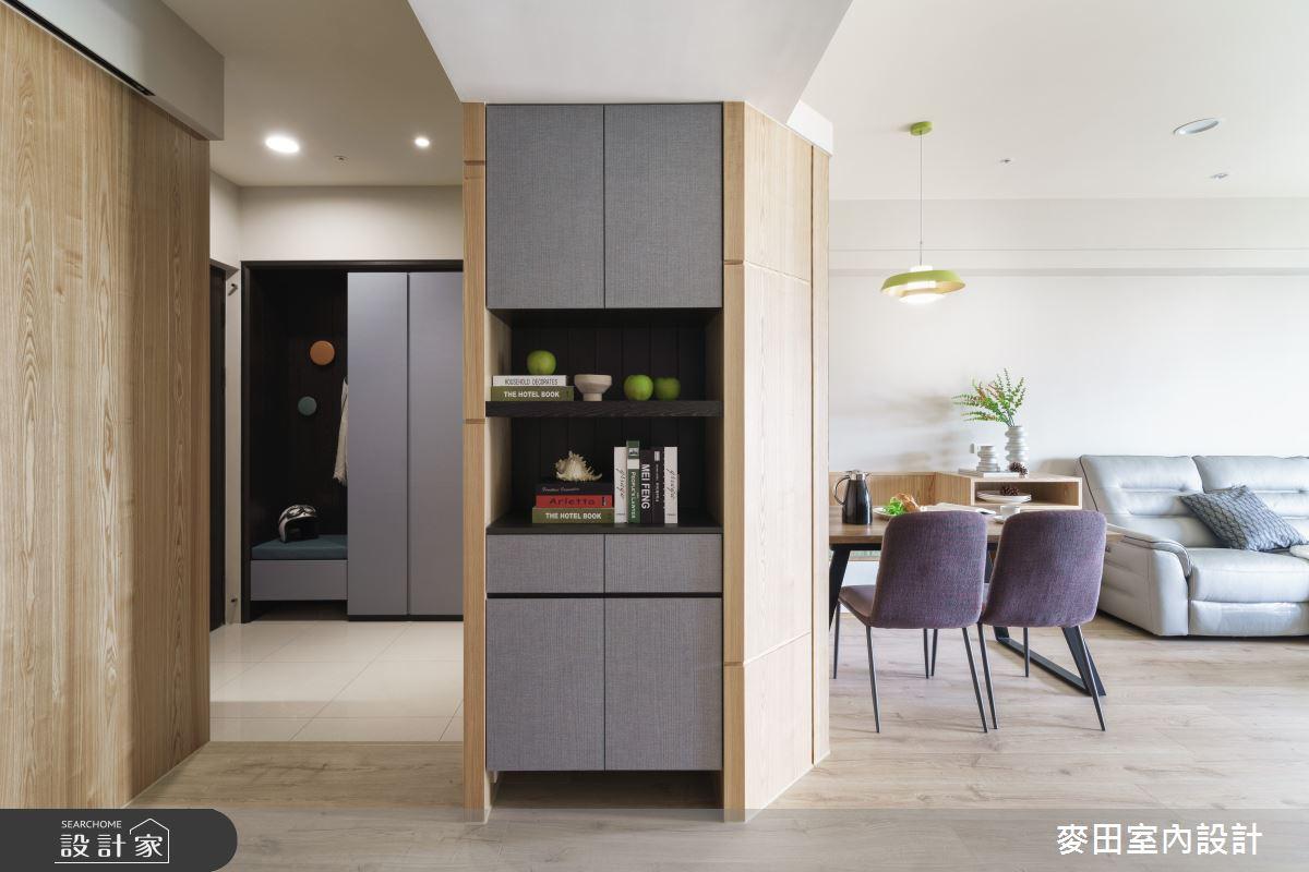 43坪新成屋(5年以下)_簡約風案例圖片_麥田室內設計有限公司_麥田_22之2