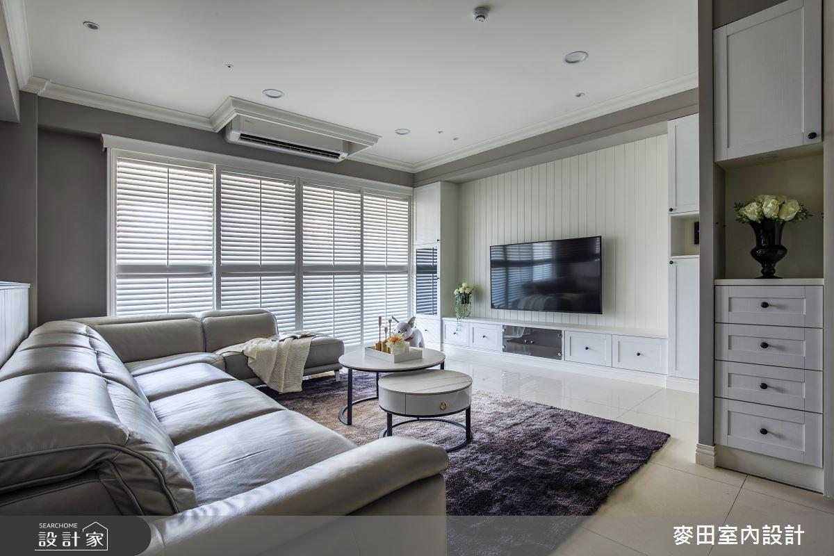 89坪新成屋(5年以下)_美式風客廳案例圖片_麥田室內設計有限公司_麥田_23之3