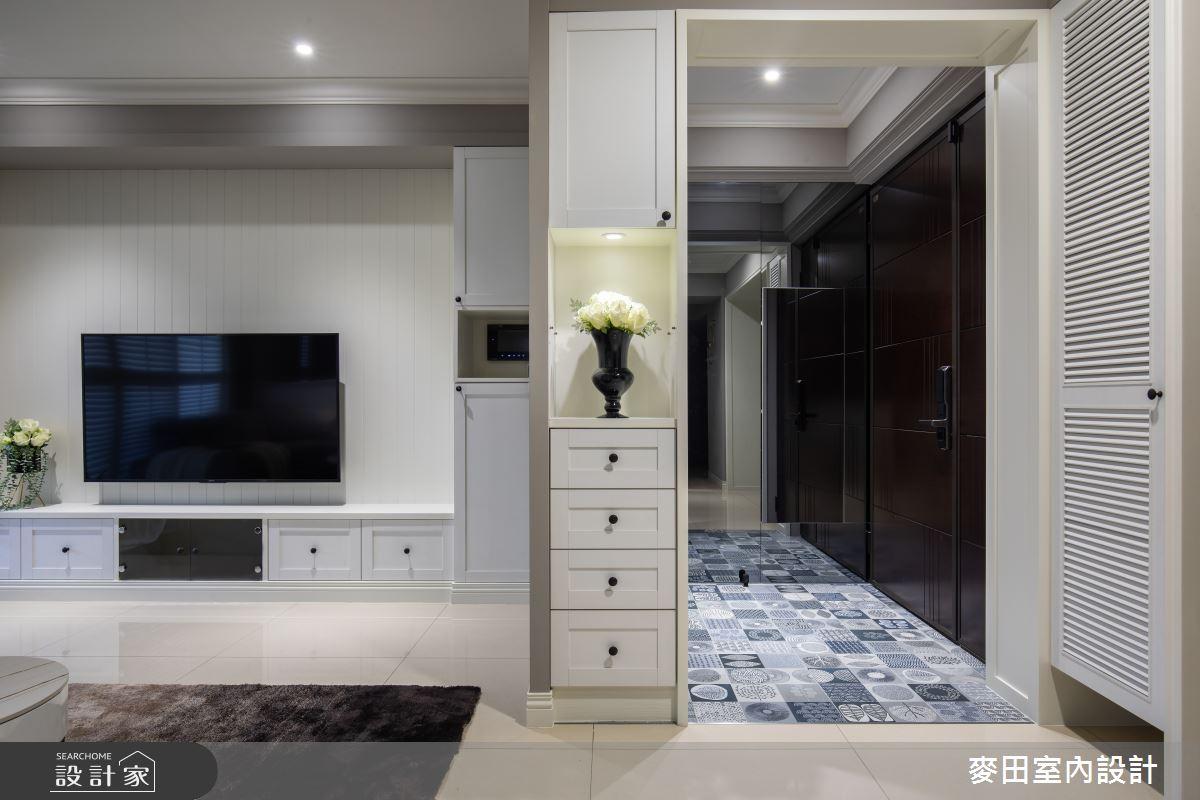 89坪新成屋(5年以下)_美式風玄關客廳案例圖片_麥田室內設計有限公司_麥田_23之4