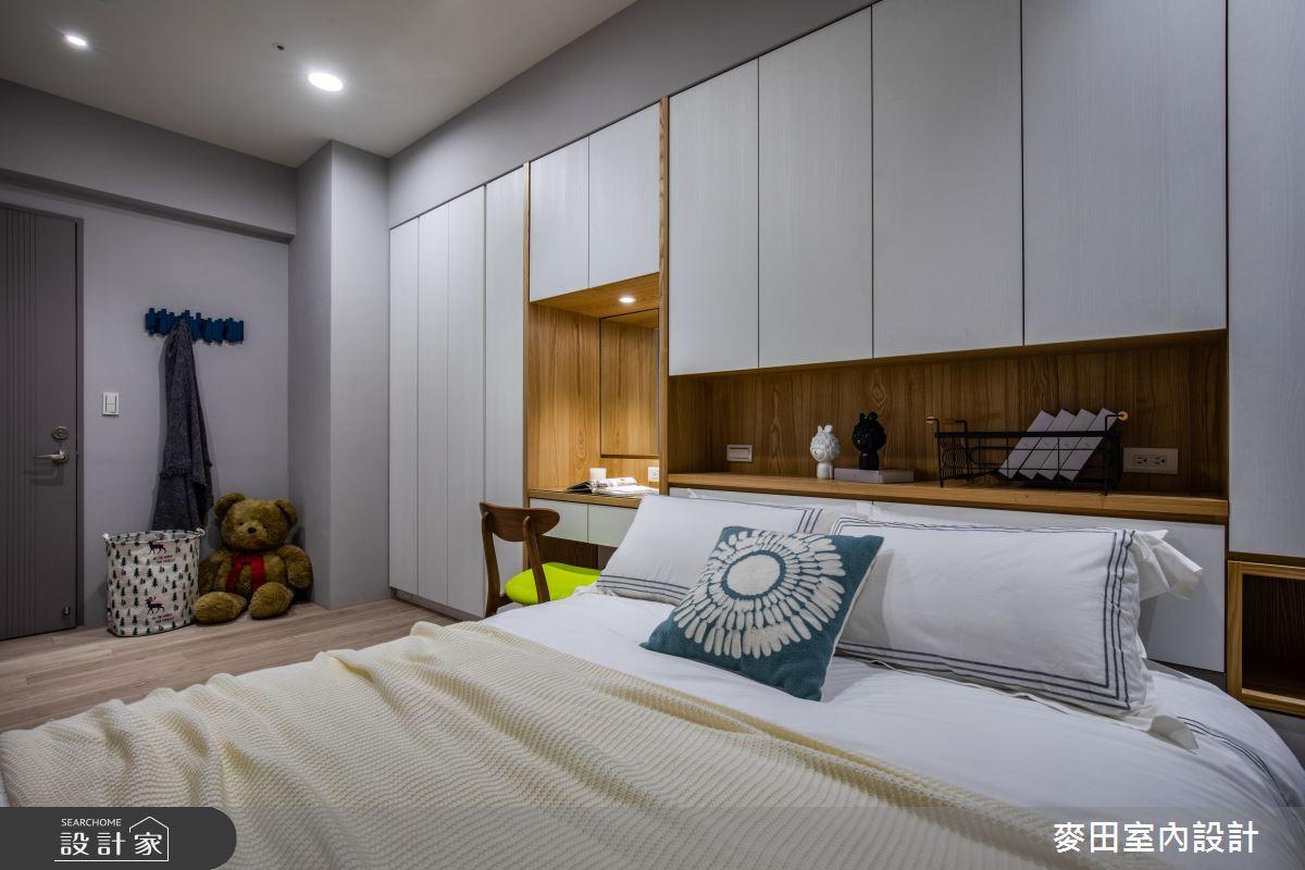 89坪新成屋(5年以下)_美式風臥室案例圖片_麥田室內設計有限公司_麥田_23之22