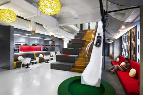 辦公室裡也有溜滑梯 ─ 赤子之心遺忘在雅加達奧美廣告