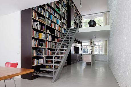 垂直設計LOFT,工業風透天厝在鹿特丹
