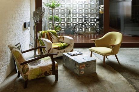 舊屋翻新,大玩幾何圖形!新加坡老屋改頭換面