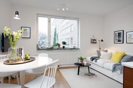 瑞典小公寓的微風輕哨