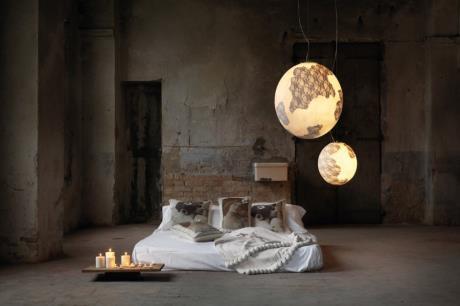 夢想旅行: 迷人的地球懸掛燈