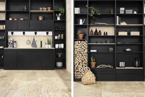 顛覆視覺! 前衛時尚的黑色廚房