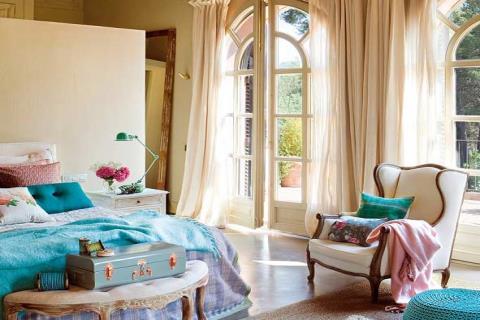 美麗溫馨的臥室佈置