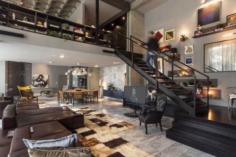 巴西當代公寓:藝術與設計的完美結合