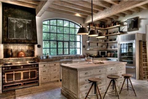 10種擁抱鄉村生活的質樸廚房