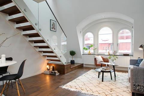 注入光好溫馨! 斯德哥爾摩的17坪舒適公寓