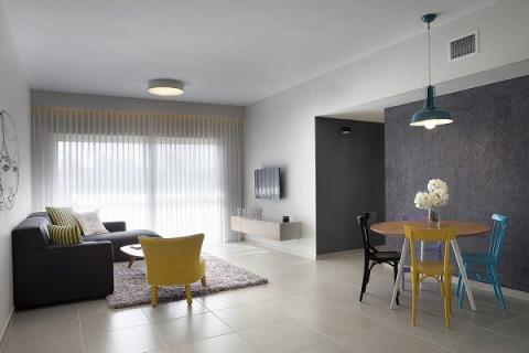 精省預算! 以色列年輕夫妻的簡約舒適公寓