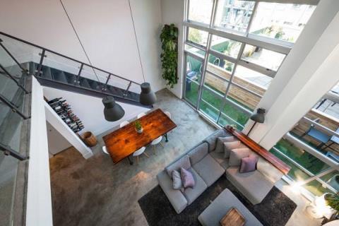 有小孩也不怕! 充滿創意的復古現代LOFT公寓設計