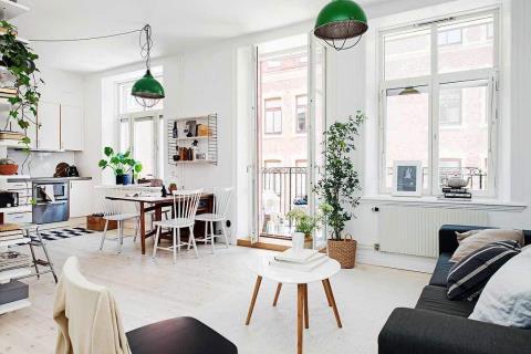 超完美格局! 12坪舒適瑞典小公寓