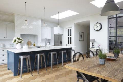 繽紛廚房系列: 50 款藍色廚房設計好點子