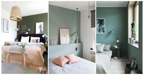 繽紛臥室系列: 26 個打造綠色臥室的好點子