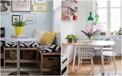 用餐區不夠大?快來學這 10 種設計巧思,把小餐廳變美變好用!