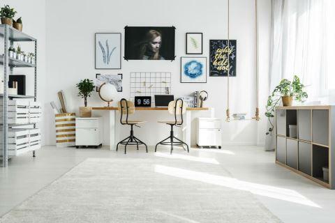 五種居家辦公室的經典色系案例